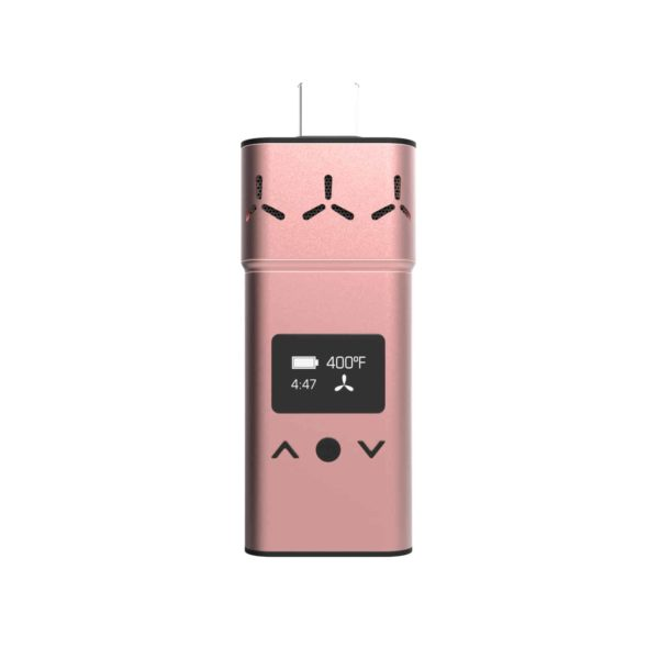 Airvape XS Vaporizer Rose Gold Front View