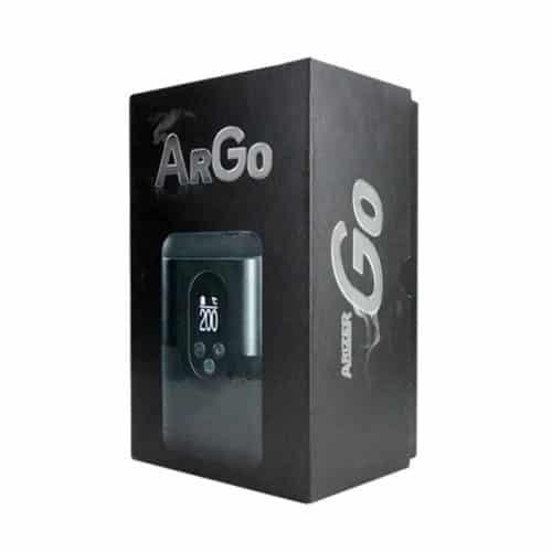 Arizer ArGo Vaporizer Packaging